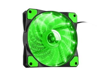 NATEC Wentylator do zasilaczaobudowy Genesis Hydrion 120 zielony LED