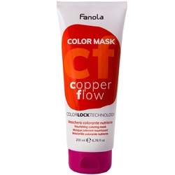 Fanola color mask - maska koloryzująca do włosów, różne kolory 200ml copper flow