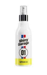 Shiny garage spice 3 – odświeżacz powietrza o zapachu skórzanej tapicerki 150ml