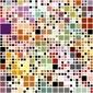 Fotoboard na płycie pastelowe kolorowe bloki wzór
