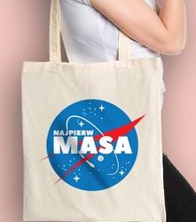 Najpierw masa wn torba na zakupy naturalna universal