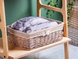 Koszyk  kosz wiklinowy na pieczywo  do organizacji  przechowywania altom design home duży