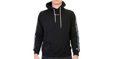 Champion hooded sweatshirt 214225-kk001 xl czarny