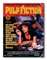 Pulp fiction cover - obraz na płótnie