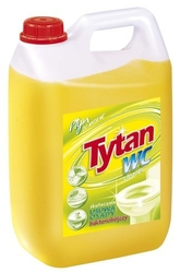 Tytan max, żółty płyn czyszczący do toalet, 5kg