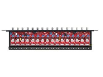 Zabezpieczenie przeciwprzepięciowe na koncentryk i skrętkę z serii pro z dystrybucją zasilania ewimar lhd-16r-pro-fps - szybka dostawa lub możliwość odbioru w 39 miastach