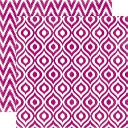 Papier 30,5x30,5 cm Style EssentialMulberry Ikat - 13