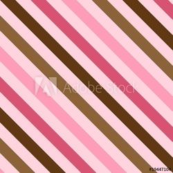 Obraz na płótnie canvas czteroczęściowy tetraptyk różowe i brązowe paski