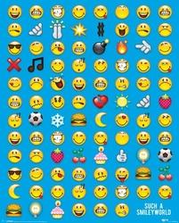Smiley emotikony - plakat