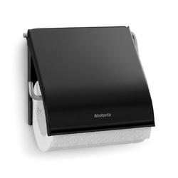 Brabantia - uchwyt na papier toaletowy - czarny matowy