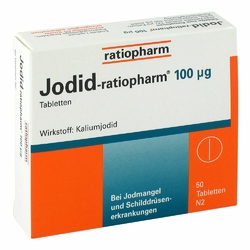 Jodid ratiopharm 100 myg Tabl.