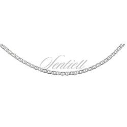 Łańcuszek srebrny pr.925 flat marina Ø 50