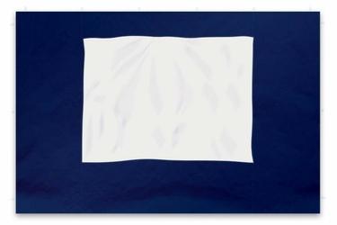 Ścianka niebieska 2 szt. 295215 cm do pawilonu 3x3 m, z oknem