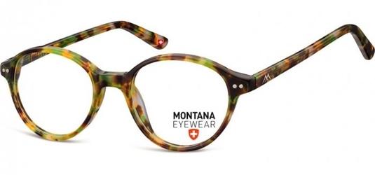 Okragle oprawki optyczne, korekcyjne montana ma70c