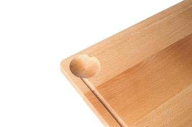 Deska kuchenna bambusowa 45x30x1.5 cm