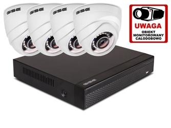 Zestaw 4w1, 4x kamera full hdir20, rejestrator 4ch - możliwość montażu - zadzwoń: 34 333 57 04 - 37 sklepów w całej polsce