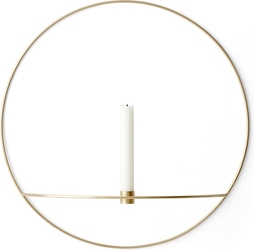 Świecznik POV 44 cm mosiądz
