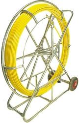 Włókno szklane do przeciągania kabli 11mm  200m pilot  stalka pe + stojak - szybka dostawa lub możliwość odbioru w 39 miastach
