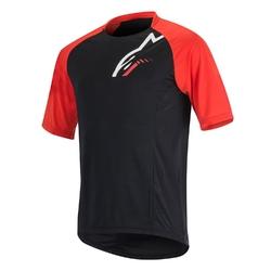 Koszulka alpinestars trailstar black-red 1764516-13