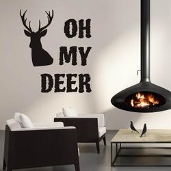 Szablon malarski oh my deer 2509