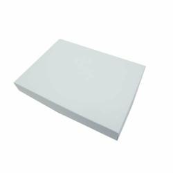 Pudełko na kartkę A6 GoatBox - biały matowy - biały