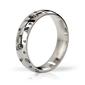 Sexshop - stalowy pierścień na penisa - mystim his ringness earl polished  engraved 51m - online
