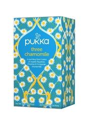 Pukka three chamomile organiczna herbatka rumiankowa 20 torebek