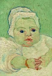 Roulins baby, vincent van gogh - plakat wymiar do wyboru: 40x50 cm
