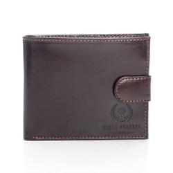 Skórzany damski portfel męski paolo peruzzi 018pp brązowy