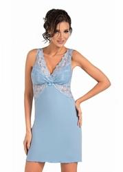 Donna Irina niebieska Koszula nocna