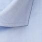 Niebieska koszula profuomo z wstawkami regular fit 37