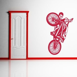 szablon malarski rower, bike bk8