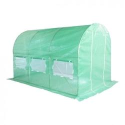 Tunel foliowy 200 cm x 350 cm 7,0 m2 zielony