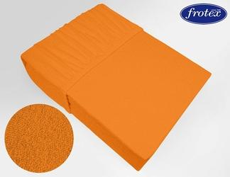 Prześcieradło frotte z gumką Frotex pomarańczowe 037 - pomarańczowy