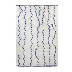 Hk living :: dywan wełniany berberyjski 180x280 niebieski