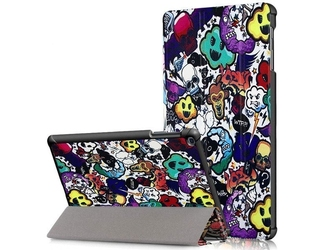Etui na tablet alogy book cover do galaxy tab a 10.1 2019 comic cloud - comic cloud