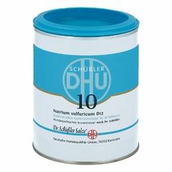 Biochemie Dhu 10 Natrium sulfur.D 12 Tabl.