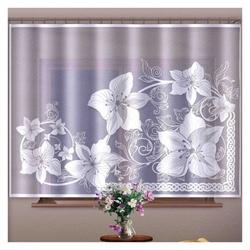 Firanka lilie 240 x 150  150 x 240 cm
