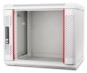 Szafa rack getfort 19 cali 9u 600x450 wisząca szara - szybka dostawa lub możliwość odbioru w 39 miastach