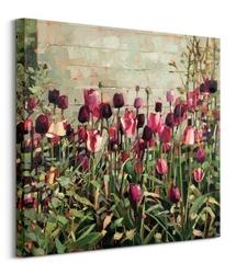 Tulip garden - obraz na płótnie
