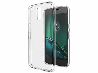 Etui crystal case silikonowe do Lenovo Moto G4 Play przezroczyste