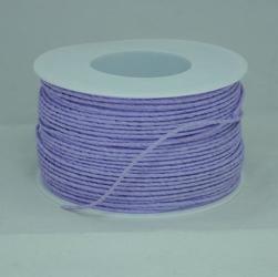 Ozdobny sznurek papierowy z drutem - fiolet - FIO
