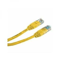 UTP patchcord UTP patchcord, Cat.5e, RJ45 M-0.5m, nieekranowany, żółty, economy