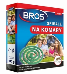 Bros, Max, spirala przeciw komarom, 10 sztuk