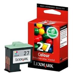 Tusz Oryginalny Lexmark 27 10NX227E Kolorowy - DARMOWA DOSTAWA w 24h