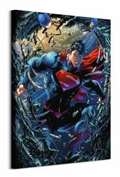 Superman Unchained - obraz na płótnie