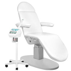 Fotel kosmetyczny elektr.  eclipse 3 siln. biały + wapozon 2103 gratis