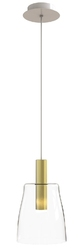 Lampa wisząca modena złoty 15