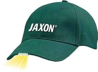 Czapka z latarką w daszku Jaxon - zielona