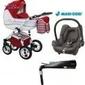 Wózek wiejar evado wózek 4w1 fotel maxi cosi cabriofix + baza familyfix